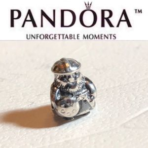 790588 Rare Retired Pandora Viking Charm